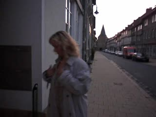 Tourist in Goslar